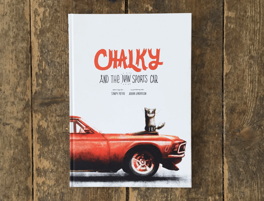 Thumbnail image of our project for Chalky and the New Sports Car